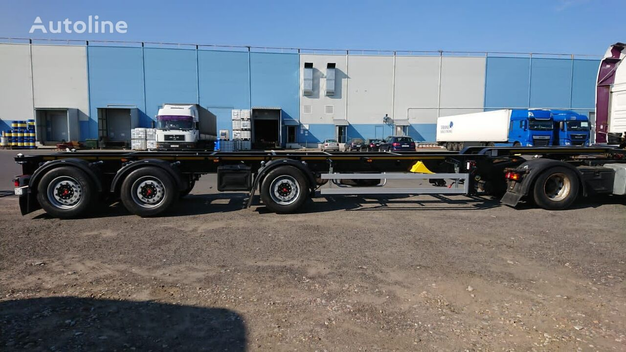 new ORTHAUS CGSC30 container chassis semi-trailer