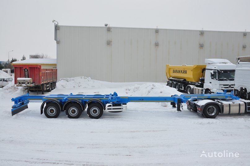 new OZGUL container chassis semi-trailer