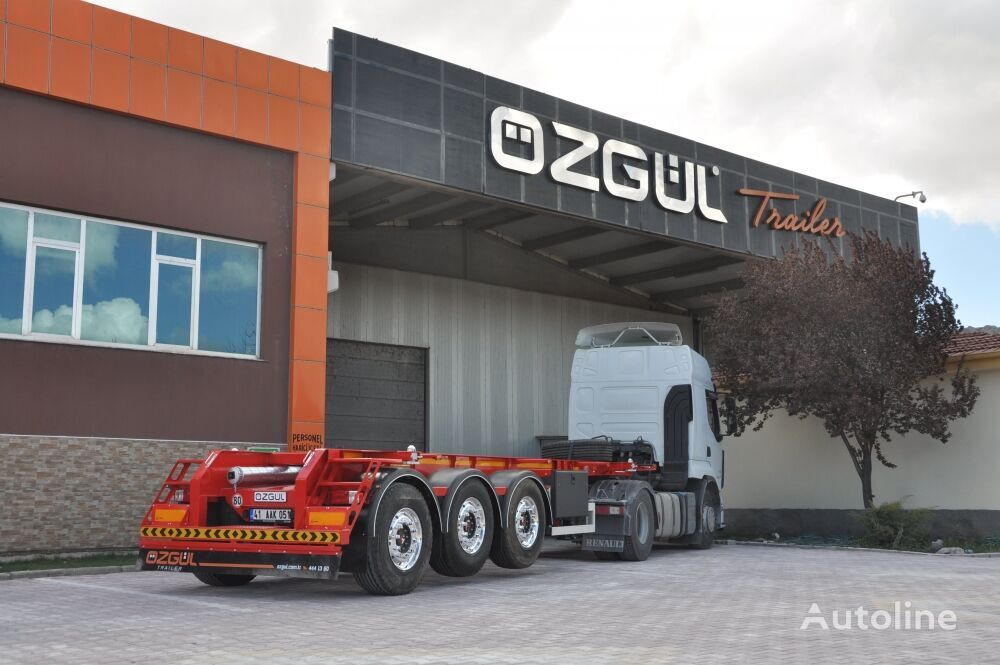 OZGUL ISO TANK CONTAINER CARRIER SEMI  container chassis semi-trailer