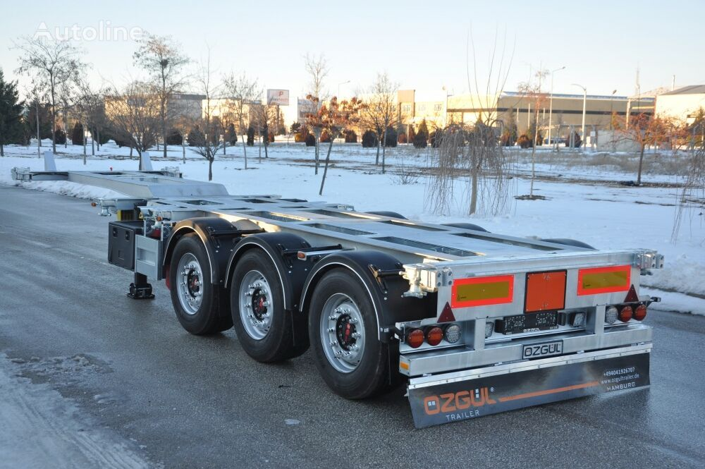 OZGUL TELESCOBIC HIGH CUBE CONTAINER CHASSIS container chassis semi-trailer