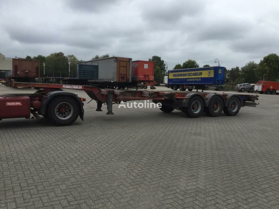 RENDERS container chassis semi-trailer