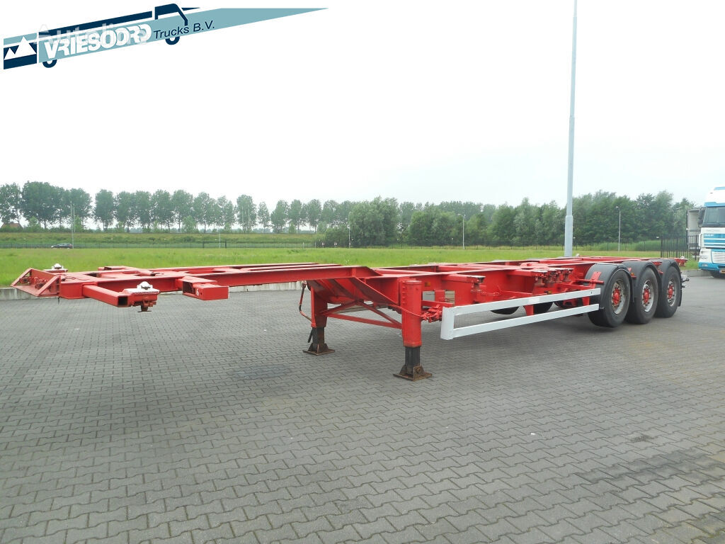 RENDERS ROC 12.27 CCE container chassis semi-trailer