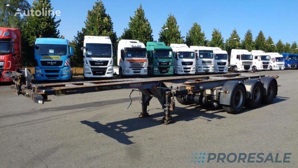 RENDERS RPS 20 container chassis semi-trailer