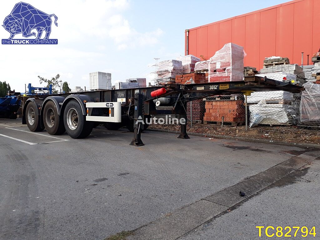 VAN HOOL 20-30 FT Container Transport container chassis semi-trailer