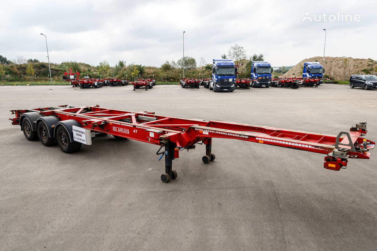 VAN HOOL Universal container Carrier container chassis semi-trailer