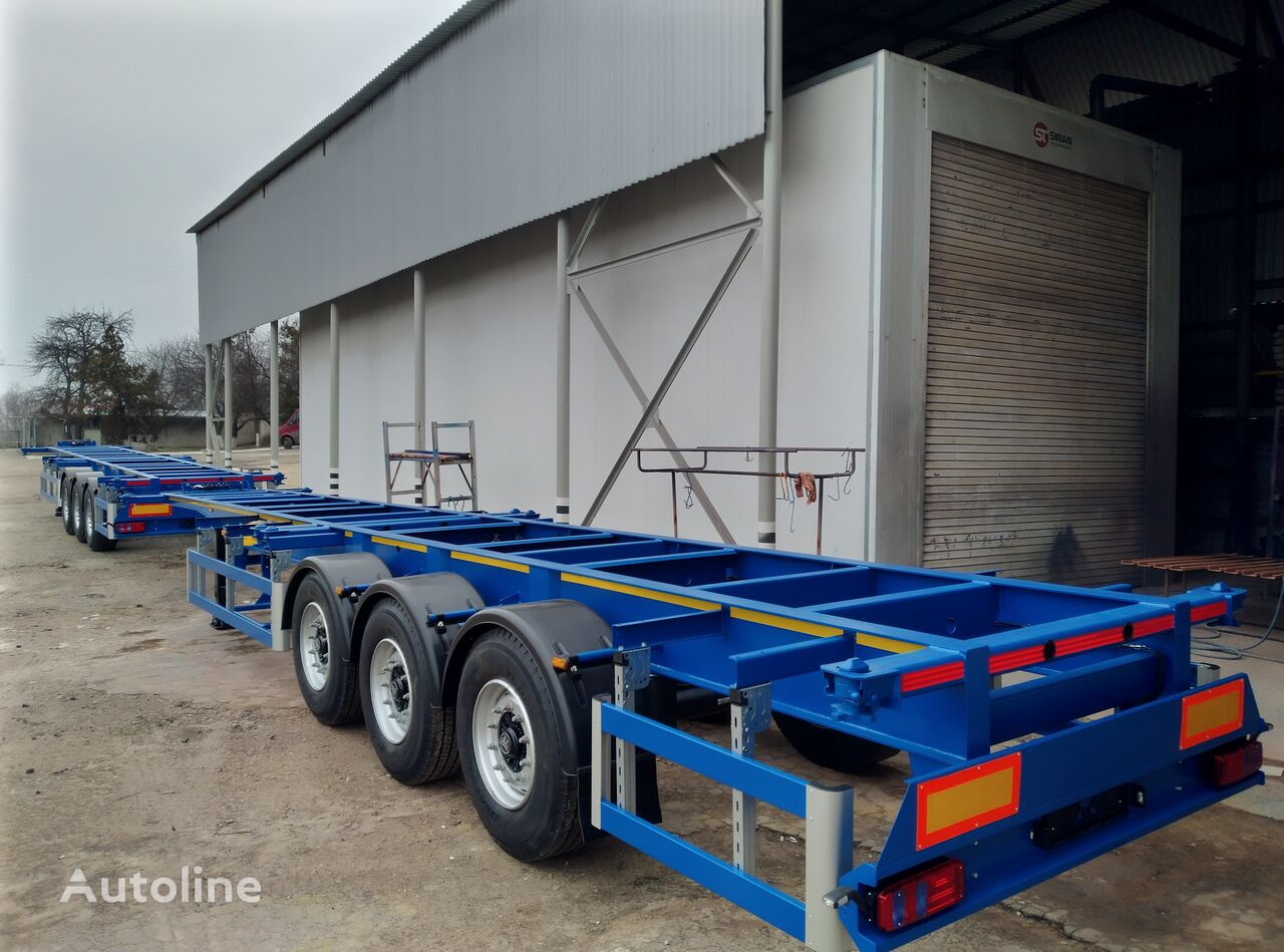 new VARZ NPK-3212 container chassis semi-trailer