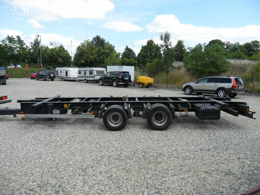 WECOM container chassis semi-trailer