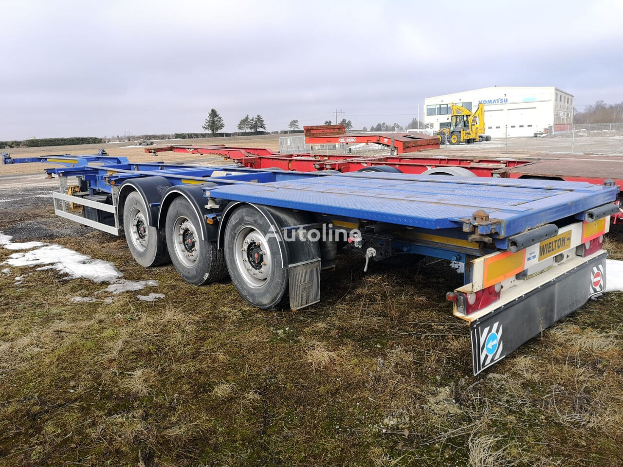 WIELTON NS3P container chassis semi-trailer