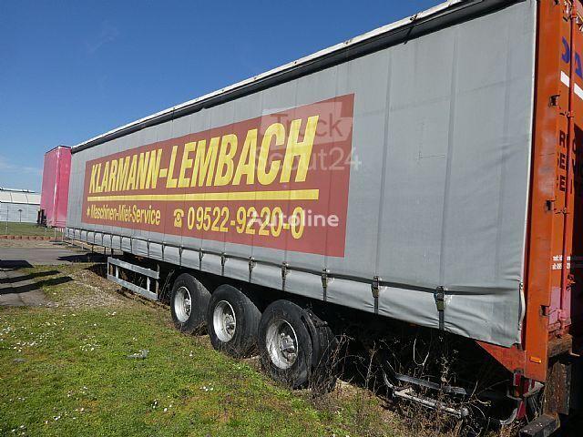 ACKERMANN-FRUEHAUF CPN-RO 3 curtain side semi-trailer