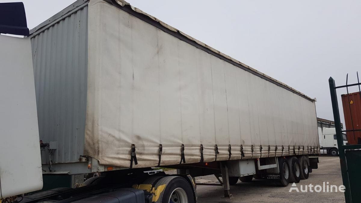 ARB 3 Axle ROR curtain side semi-trailer