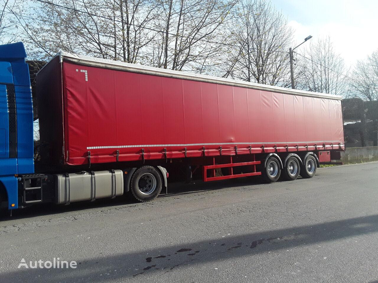COMETTO TT43/3AS  curtain side semi-trailer