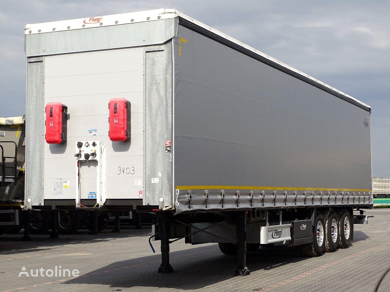 FLIEGL CURTAINSIDER / STANDARD / 2018 YEAR / PERFECT CONDITION /  curtain side semi-trailer