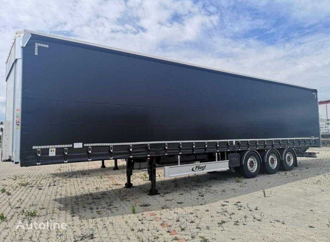 new FLIEGL SDS 390 curtain side semi-trailer