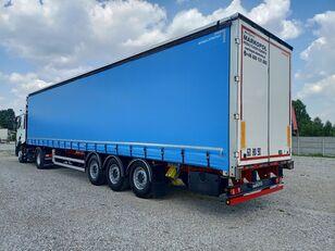 FRUEHAUF curtain side semi-trailer