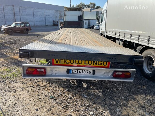 Invepe S 380 3R curtain side semi-trailer