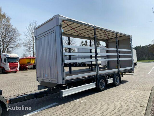 new KASSBOHRER Tandem Jumbo Volumenanhänger mit Aufbau curtain side semi-trailer