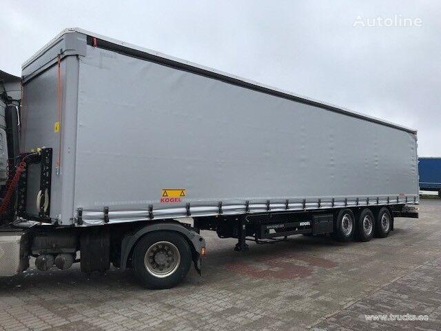 KÖGEL SN24-1 (Tõstetava katusega) curtain side semi-trailer