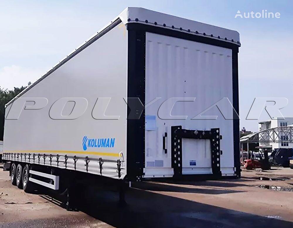 new KOLUMAN ShTORA (Cargo Class) curtain side semi-trailer