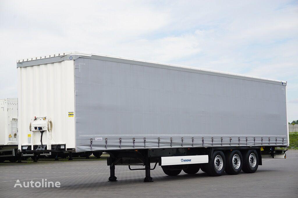 KRONE / FIRANKA / MULTI LOCK / XL / OŚ PODNOSZONA  curtain side semi-trailer
