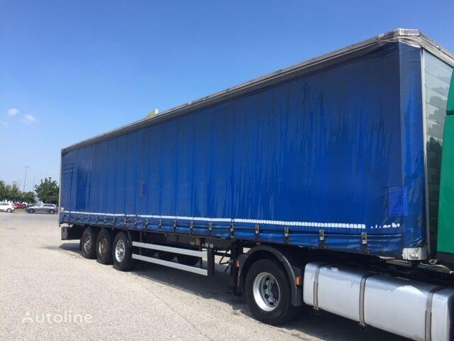 MERKER CENTINATO curtain side semi-trailer