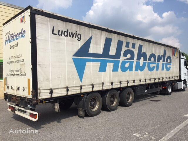 MEUSBURGER centinato curtain side semi-trailer