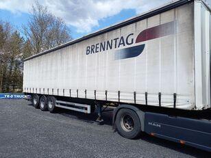 PACTON MET ONDERSCHUIFKLEP D'HOLLANDIA+2 LIFTASSEN curtain side semi-trailer