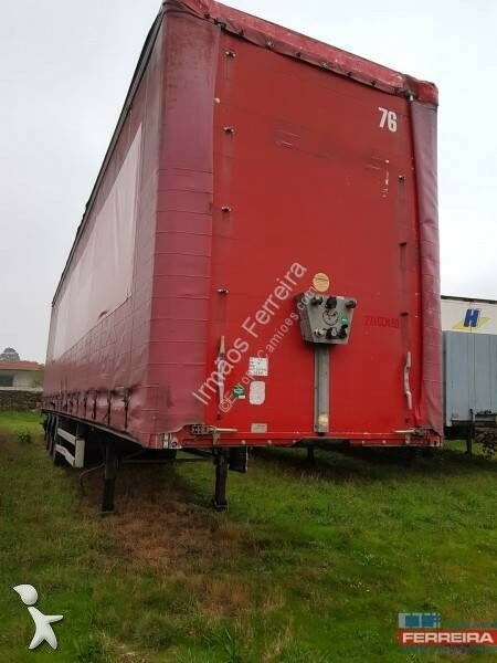 SAMRO Mega, grande volume curtain side semi-trailer