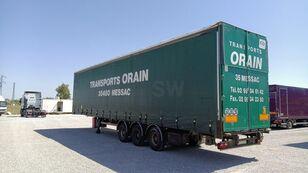 SAMRO Tautliner curtain side semi-trailer