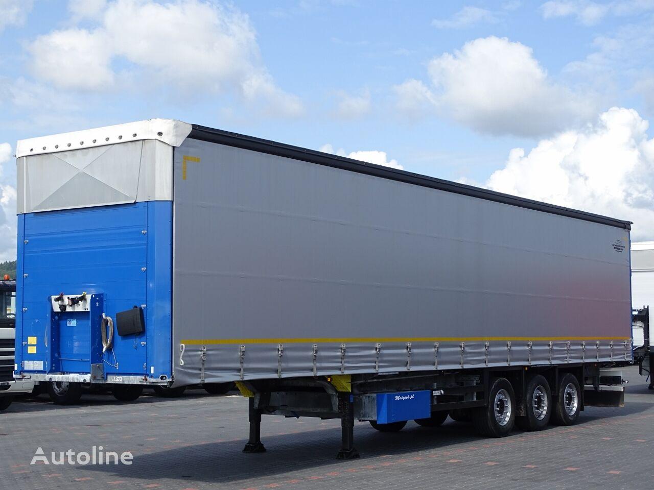 SCHMITZ CARGOBULL CURTAINSIDER / STANDARD / LIFTED AXLE / 385/55 R22,5 curtain side semi-trailer
