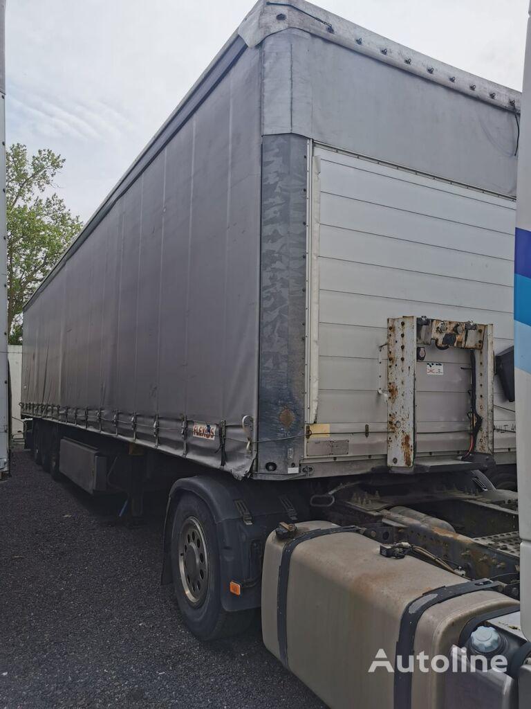 SCHMITZ CARGOBULL S01 curtain side semi-trailer