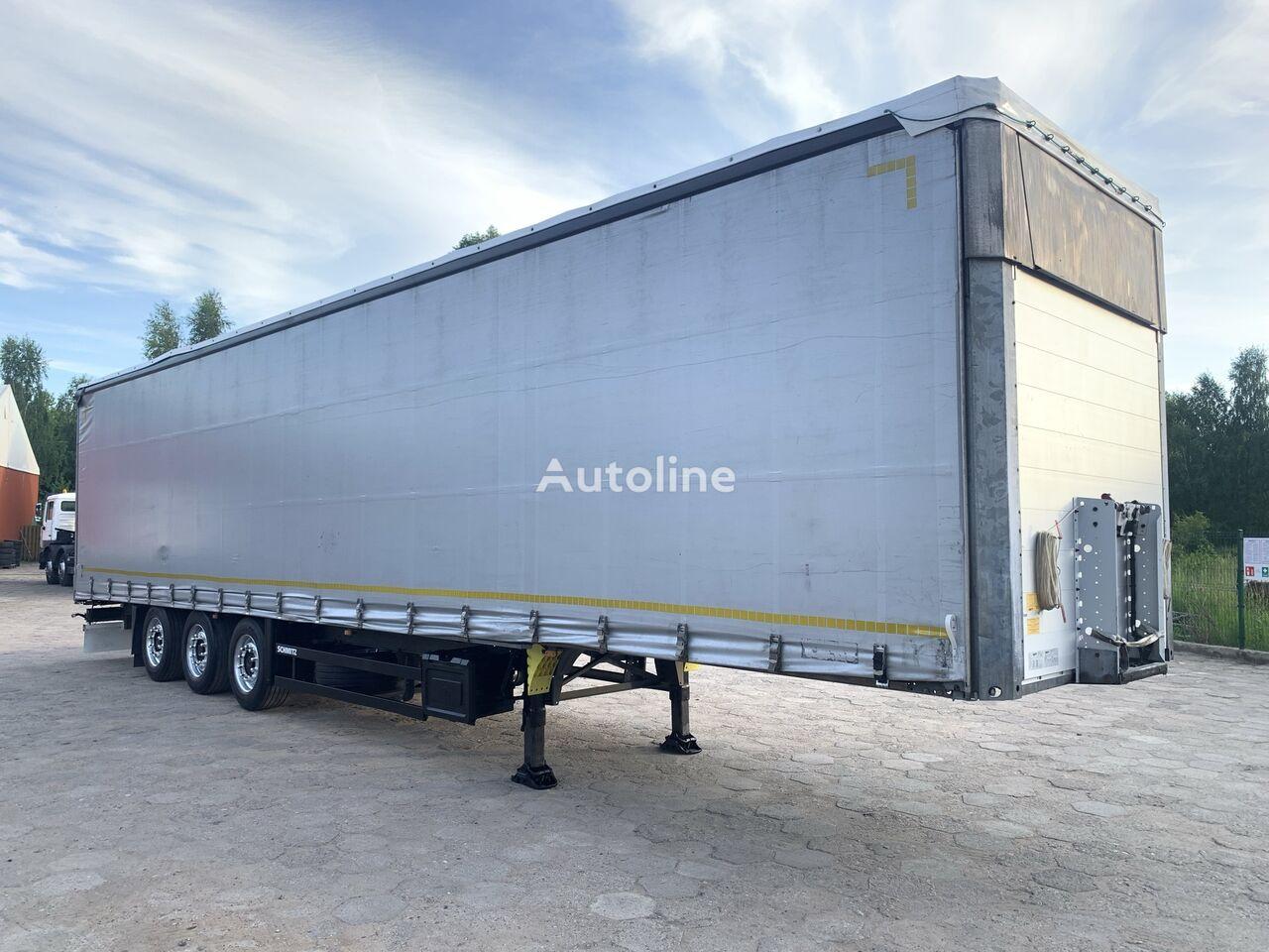 SCHMITZ CARGOBULL SCS 24/L FIRANKA / VARIOS PODNOSZONY DACH / STANDARD 385/55 curtain side semi-trailer