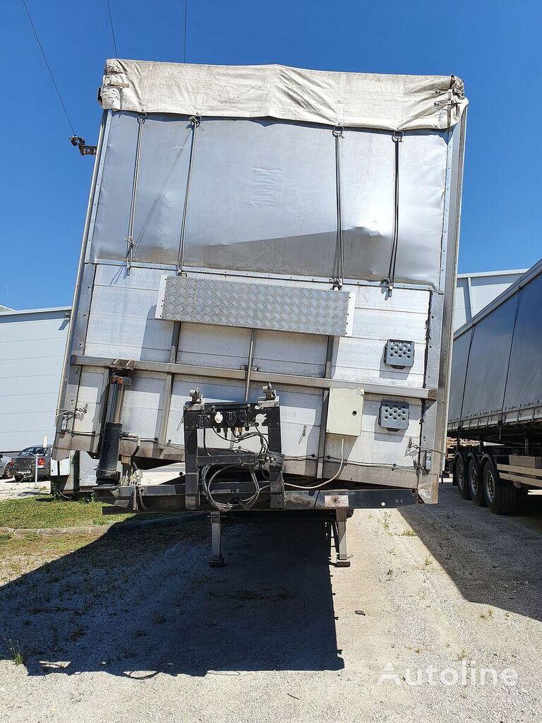 SCHWARZMÜLLER Coil+Grain+Seitenkipper curtain side semi-trailer