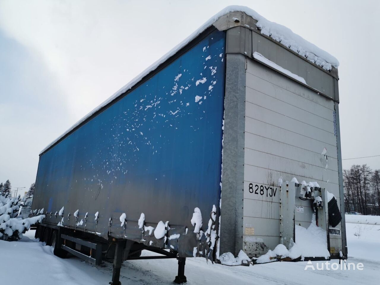 Schmitz S01 (MEGA) curtain side semi-trailer