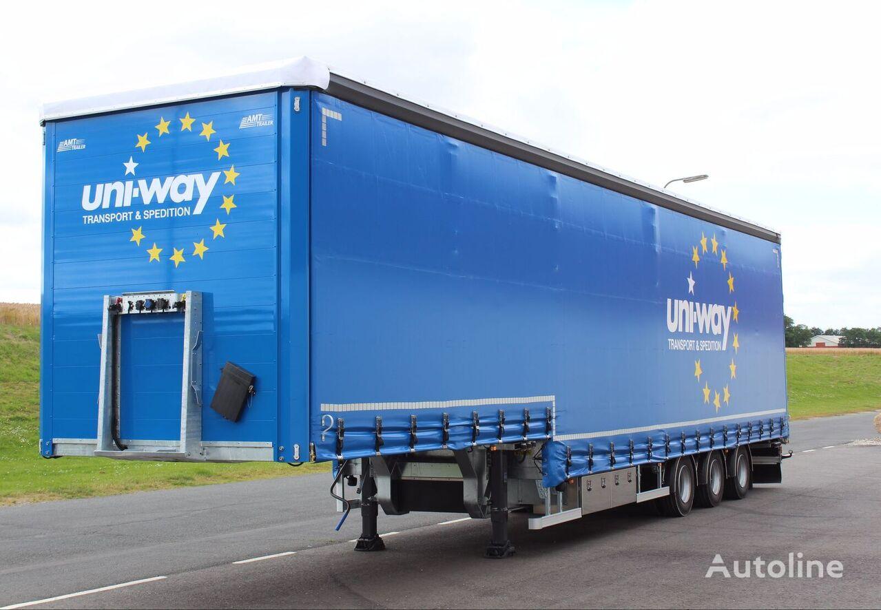 new AMT Trailer  GA350 curtain side semi-trailer