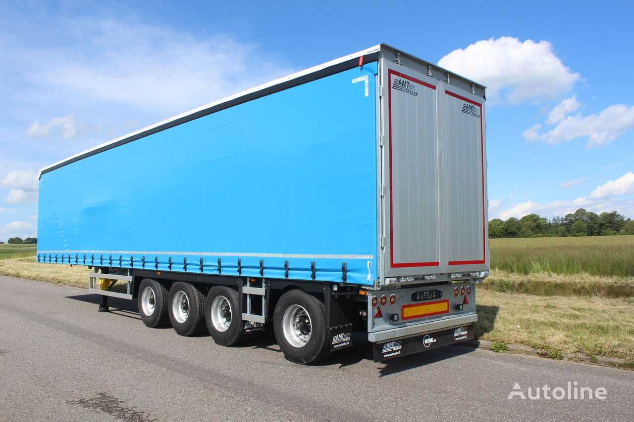 new AMT Trailer GA400 curtain side semi-trailer