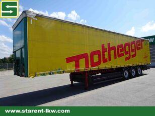 BERGER Tautliner Light Coil 5.610 KG, SAF–Achsen, XL-Zertifikat  curtain side semi-trailer