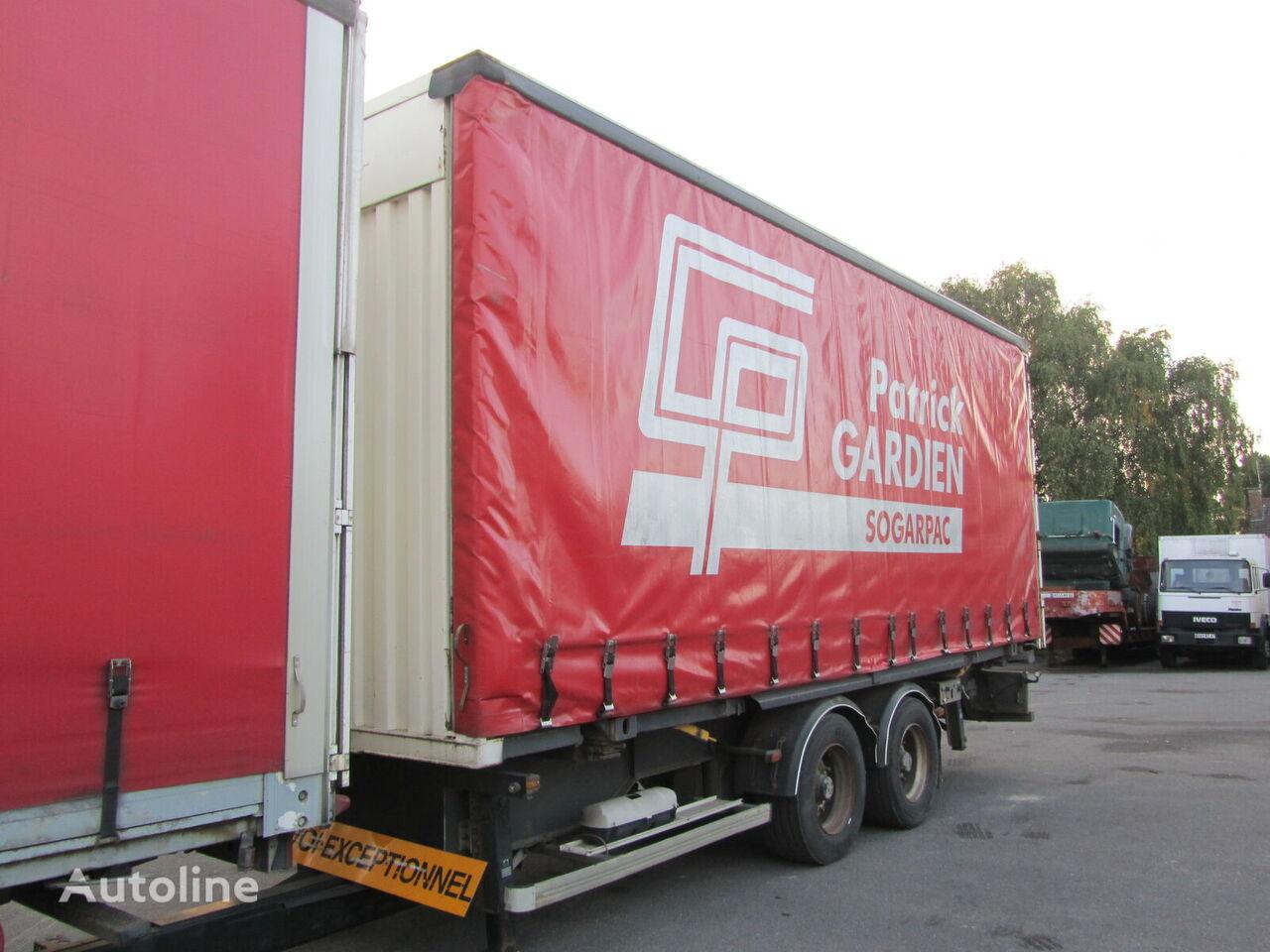 CASTERA GT curtain side semi-trailer
