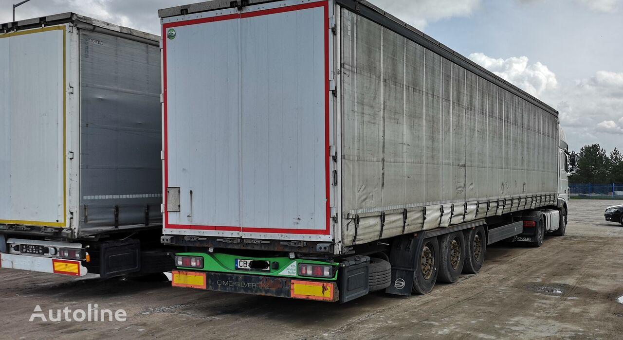 CIMC  SG03 curtain side semi-trailer