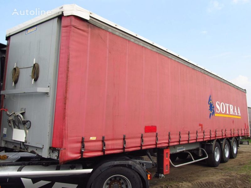 FIRANKA COIL MULDA 13.6 SAF SUPER STAN IMPORT curtain side semi-trailer