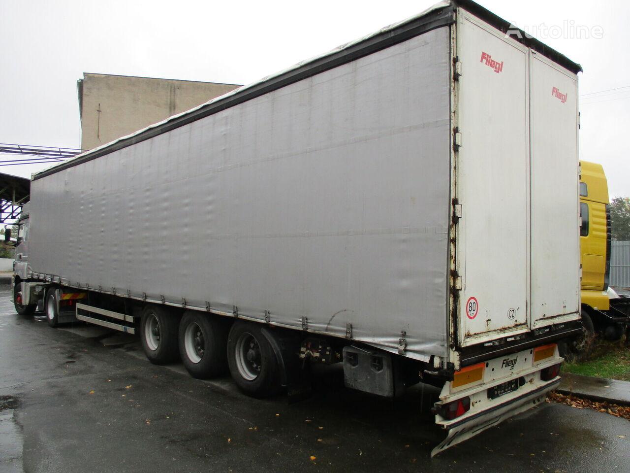 FLIEGL SDS 350 curtain side semi-trailer