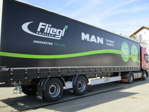 new FLIEGL SZS 310 curtain side semi-trailer