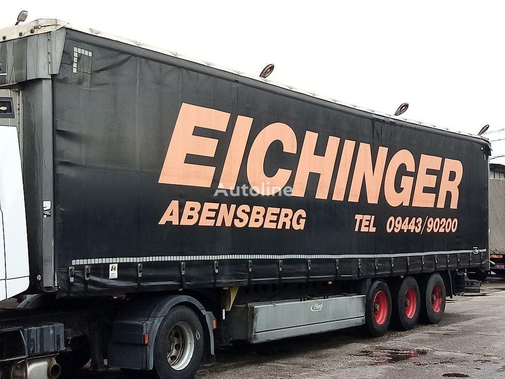 FLIEGL XL zertifikat, Hochdach, Trommel Bremse curtain side semi-trailer