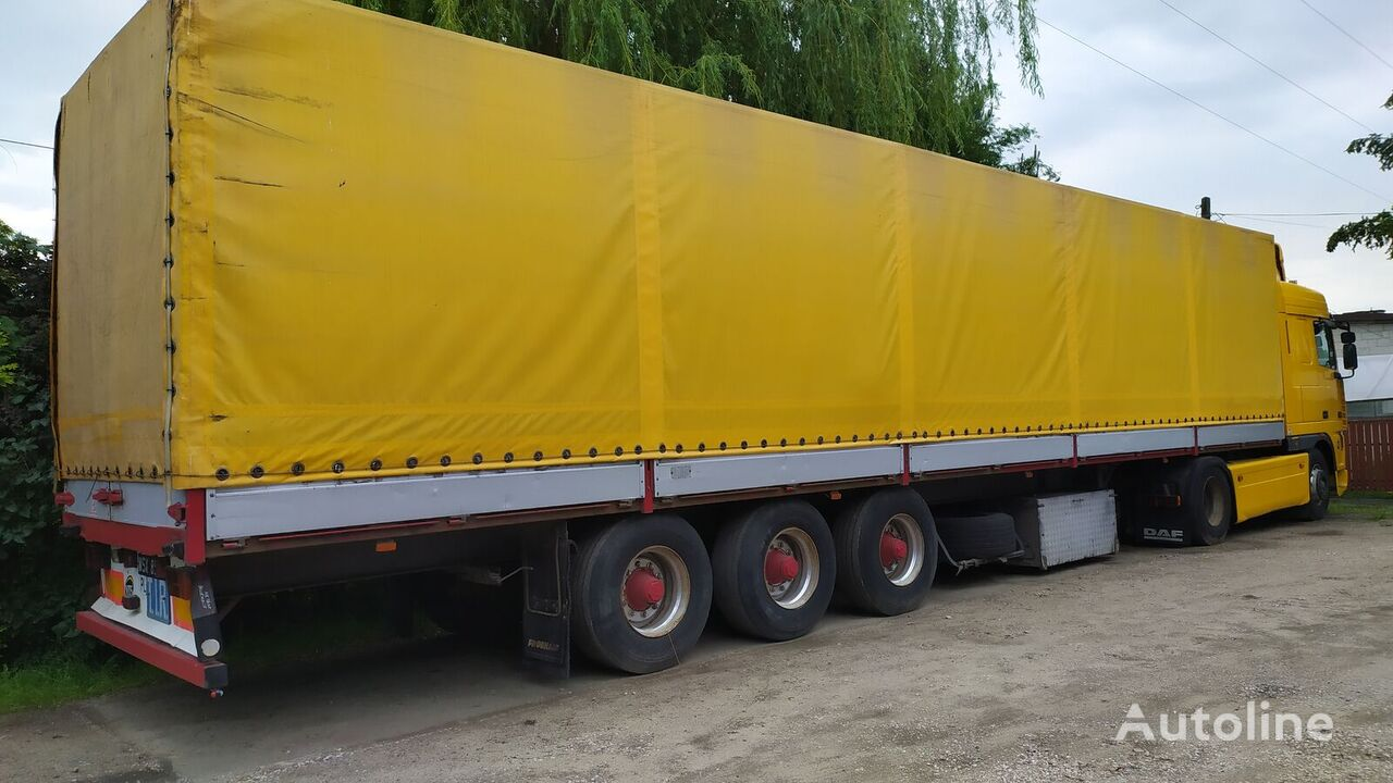 FRUEHAUF curtain side semi-trailer