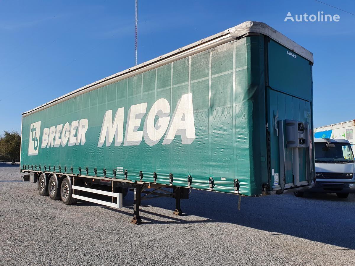 FRUEHAUF Semitautliner TX34 curtain side semi-trailer