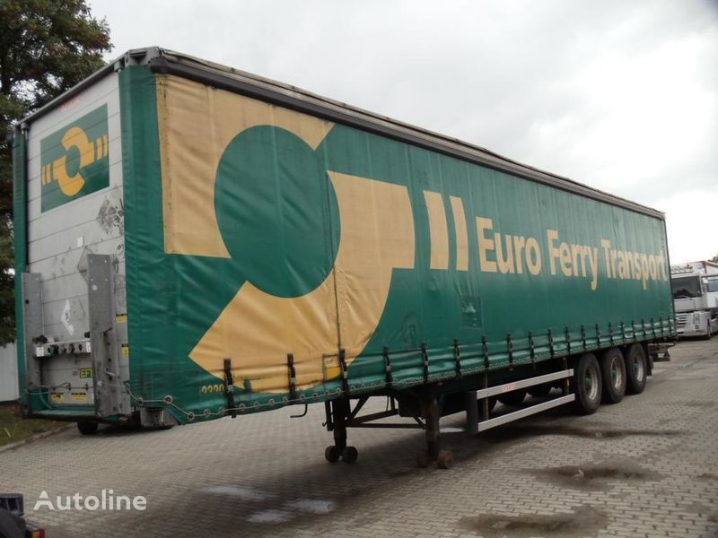 GROENEWEGEN curtain side semi-trailer