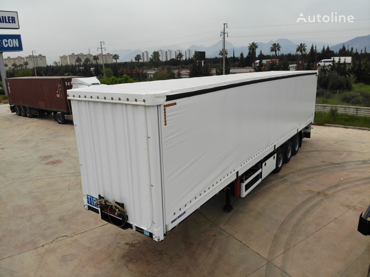 new HASTRAILER curtain side semi-trailer