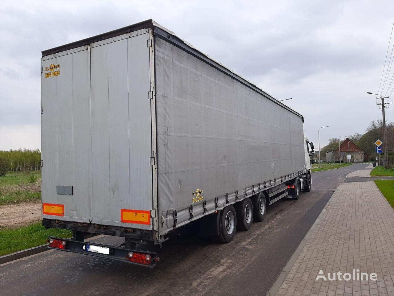 HUMBAUR HSA curtain side semi-trailer