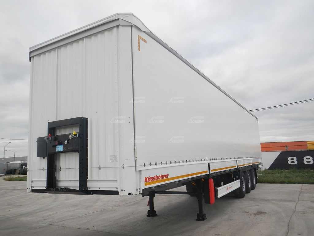 new KASSBOHRER curtain side semi-trailer