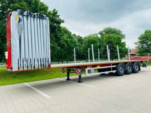 new KASSBOHRER Pritsche Plane – Libner Open Box Schiebebügel curtain side semi-trailer