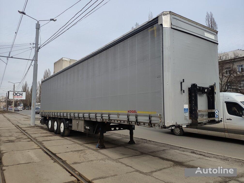 KÖGEL curtain side semi-trailer